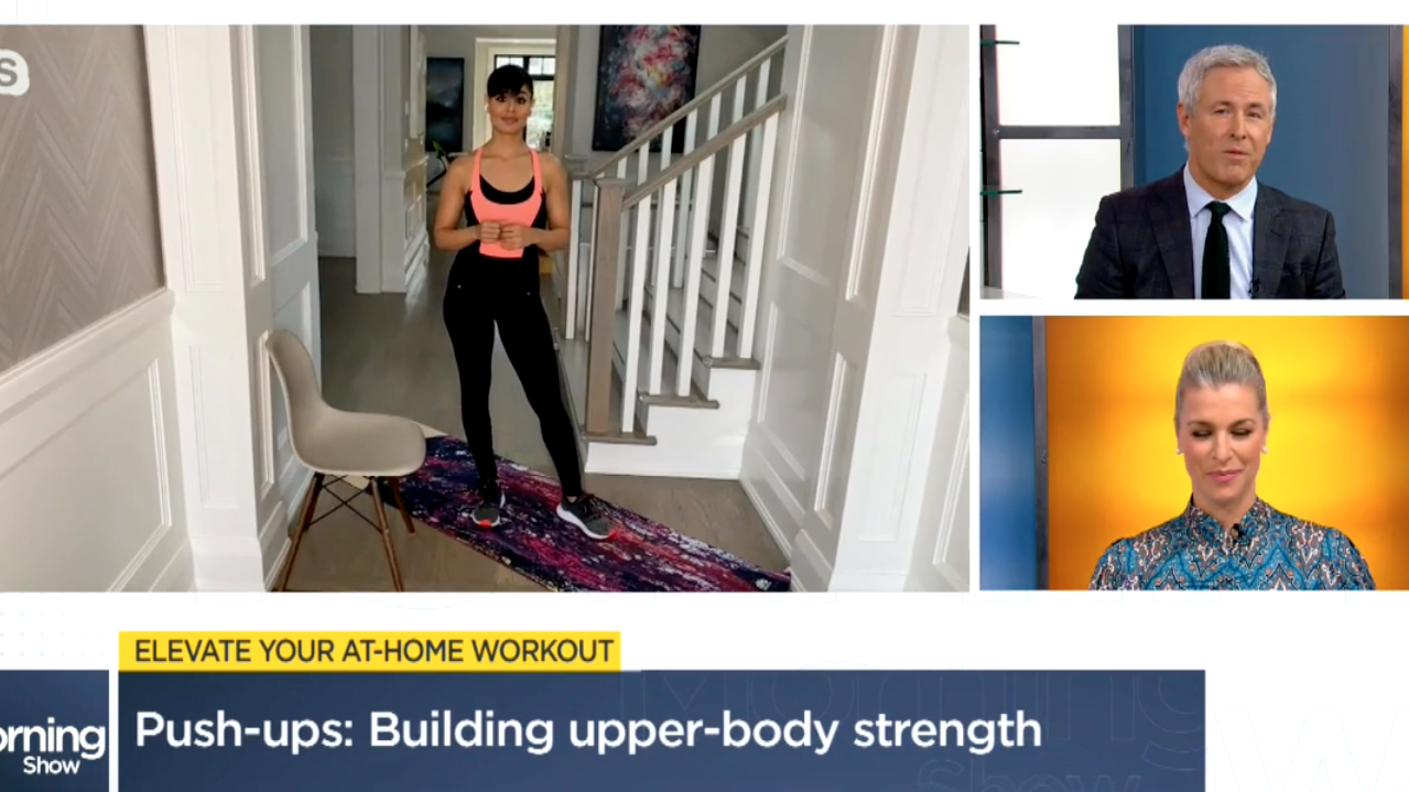 Morning Show home workout